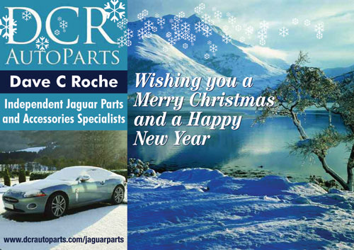 DCR AutoParts Xmas and New Year Greetings 2015